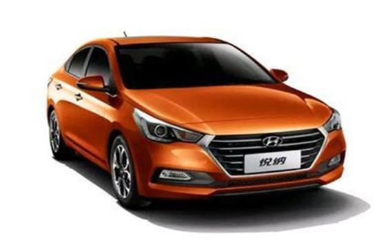 華中國際車展車展新車發布:北京現代全新悅納