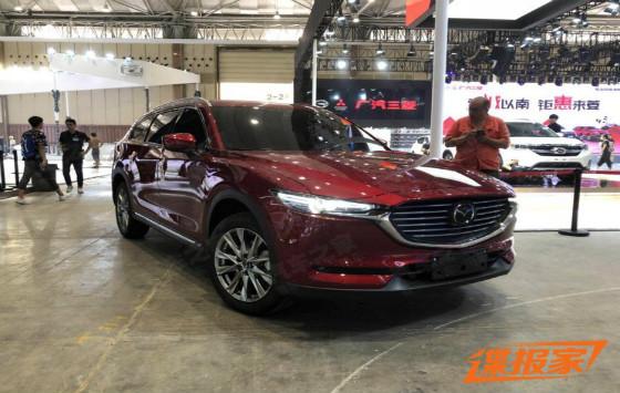 2018成都車展探館:國產馬自達CX-8曝光