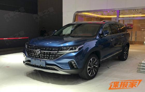 2018成都車展探館:東風風行T7實車